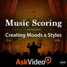 Ask Video Music Scoring 101: Creating Moods and Styles TUTORiAL [1 CD]