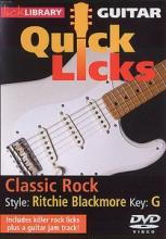Lick Library Quick Licks Classic Rock – Ritchie Blackmore Key G [1 DVD]