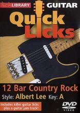 Lick Library – Quick Licks Albert Lee 12 Bar Country Rock Key A [1 DVD]