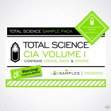 Labsamples Total Science CIA Drum and Bass Vol.1 MULTiFORMAT [1 CD]