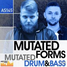 Loopmasters Mutated Forms Mutated Drum and Bass MULTiFORMAT [1 CD]