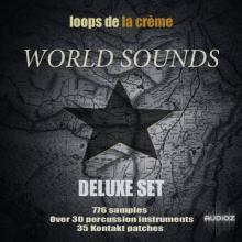 Loops De La Creme World Sounds Deluxe Set KONTAKT [1 CD]