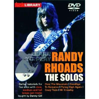 Lick Library - Learn to play Randy Rhoads - The Solos by Danny Gill [1 DVD]